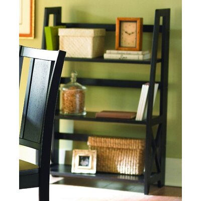 Woodbridge Home Designs 481 Series Folding Bookcase in Black
