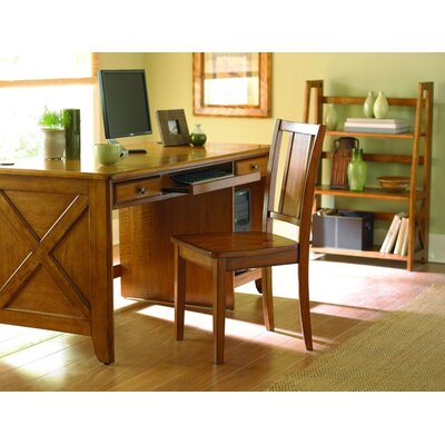 Woodbridge Home Designs 481 Series Counter Style Writing Computer Desk Set