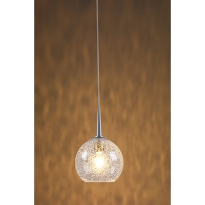 Bruck Lighting Bobo 1 Light Monopoint Pendant with Canopy