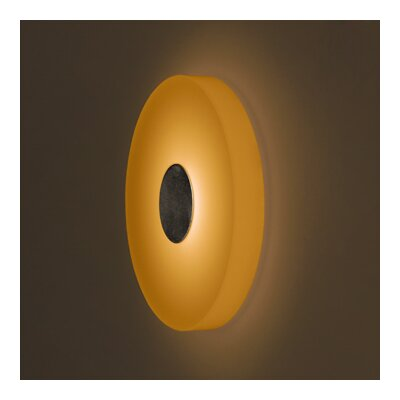 Bruck Lighting Ledra Ice 1 Round Light Wall Sconce