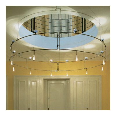 Bruck Lighting V/A Double Ring Ceiling Fixture