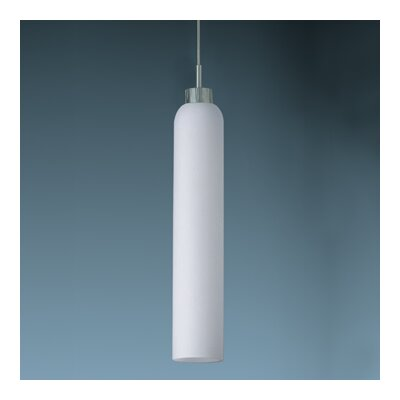 Bruck Shou 1 Light Candle Down Monopoint Mini Pendant