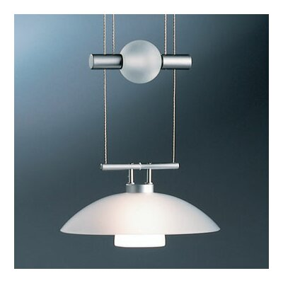 Bruck Jasmine 1 Light Move Down Large Pendant
