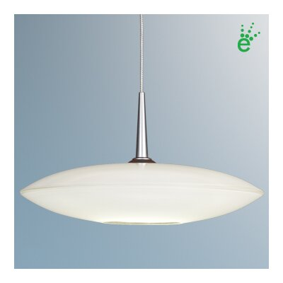 Bruck Shou 1 Light Poise LED Down Monopoint Mini Pendant