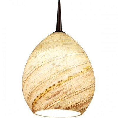 Bruck Lighting Vibe LED MP2 Pendant with Sea Shell Glass