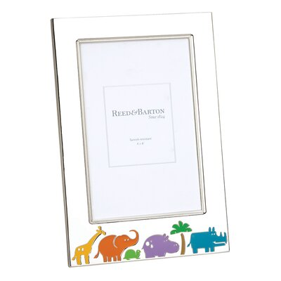 Reed & Barton Children's Gifts Jungle Parade Picture Frame