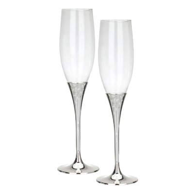 Seasons of Love Toasting Flutes Pair