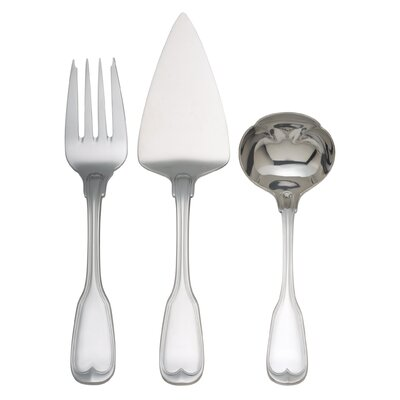 Reed & Barton Monticello 3 Piece Serve Set