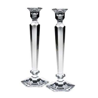 <strong>Reed & Barton</strong> Crystal Summit Candlesticks (Set of 2)