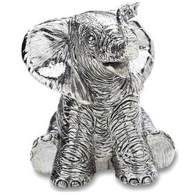 "Reed & Barton Children's Giftware 3.5"" Elephant Musical"