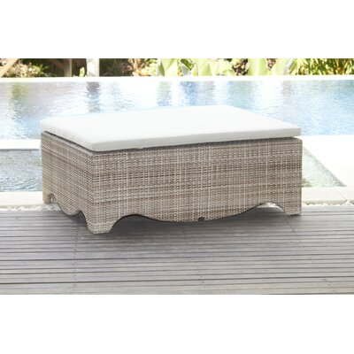 Dann Foley Santa Monica Ottoman with Cushion