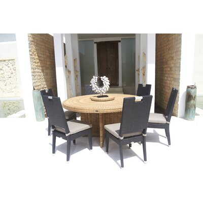 Dann Foley Beverly 7 Piece Dining Set with Cushion