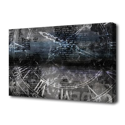 """Th-Ink Art """"Chronograph"""" Graphic Art on Canvas"""