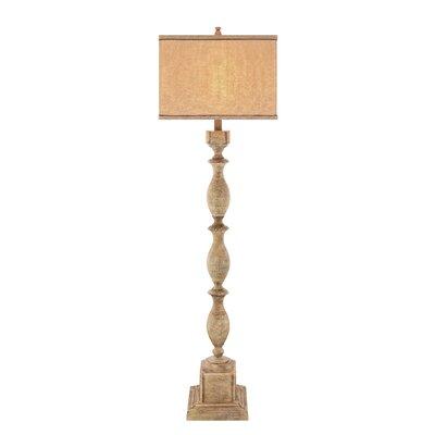 Floor lamp wayfair for Wayfair wood floor lamp