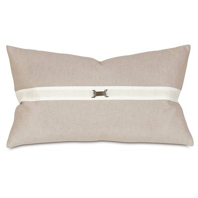 Thom Filicia Home Collection Buckle Lumbar Pillow