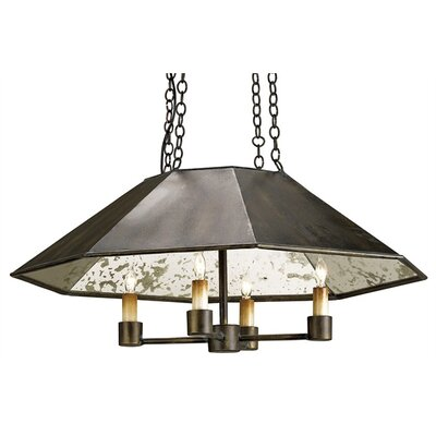 Currey & Company Annandale 4 Light Pendant
