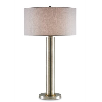 "Currey & Company Tiverton 32"" H Table Lamp with Drum Shade"