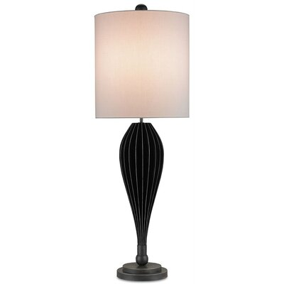 """Currey & Company Haddon 44"""" H Table Lamp with Drum Shade"""