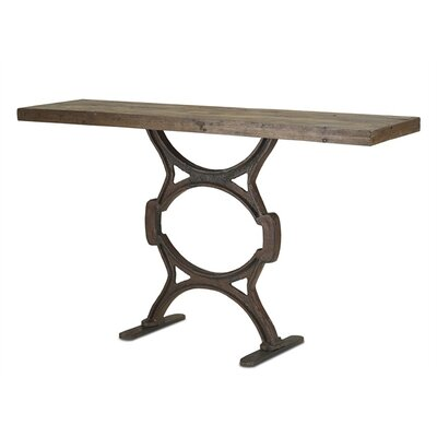 Currey & Company Factory Console Table