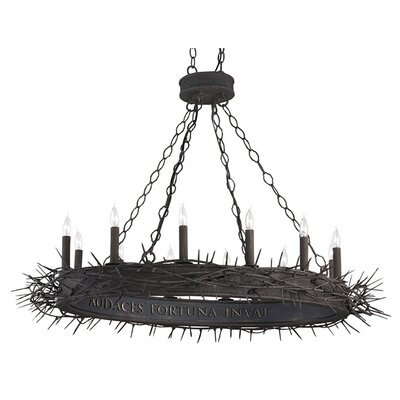 Currey & Company Fortune 12 Light Chandelier