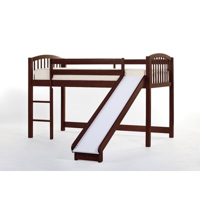 School House Junior Loft Bed with Slide