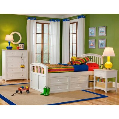 NE Kids School House Captains Bed