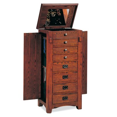 Wildon Home ® Richmond Jewelry Armoire with Mirror