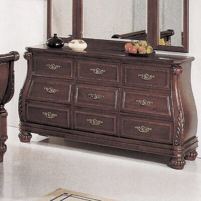 Wildon Home ® Sierra 9 Drawer Dresser