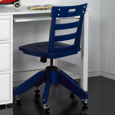 100 healy blue desk chair teen