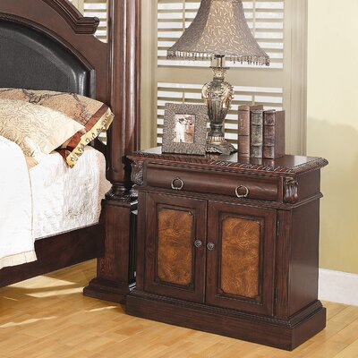 Wildon Home ® Merkel 1 Drawer Nightstand