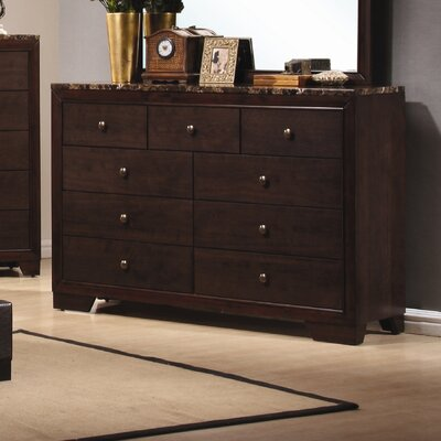 Wildon Home ® Annetta South 9 Drawer Dresser
