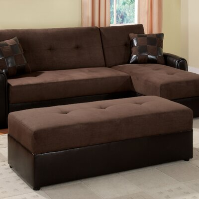 Wildon Home ® Lakeland Ottoman