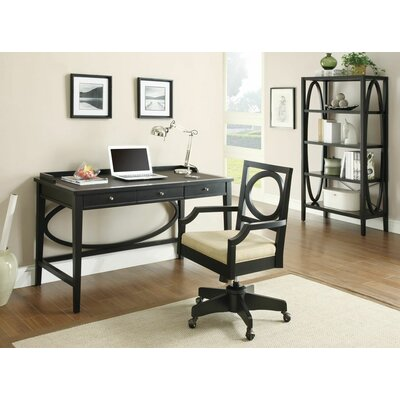 Wildon Home ® Standard Desk with 3 Drawers