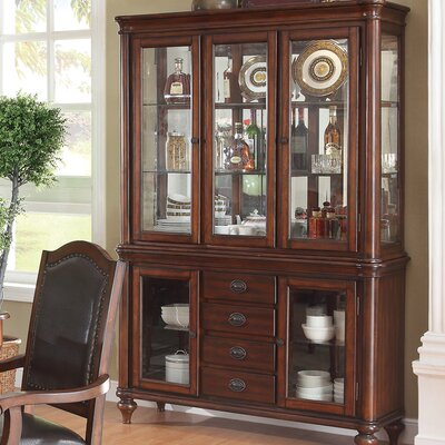 Wildon Home ® Perry China Cabinet
