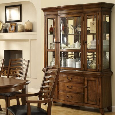 Wildon Home ® Alexandra China Cabinet