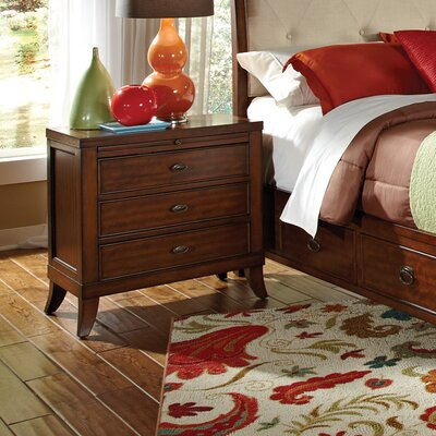 Wildon Home ® David 3 Drawer Nightstand