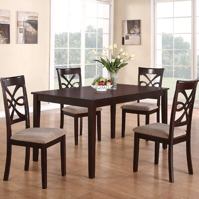 Wildon Home ® Kara 5 Piece Dining Set
