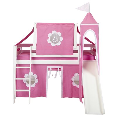 Wildon Home ® Princess Twin Loft Bed
