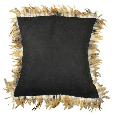 Alexander Les Plumes Feather Trim Pillow
