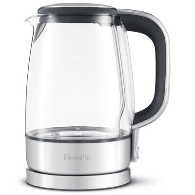 Breville 1.75-qt. Crystal Clear Cordless Electric Tea Kettle