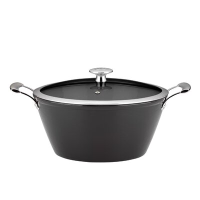 6-Qt. Cast Iron Round Casserole with Lid