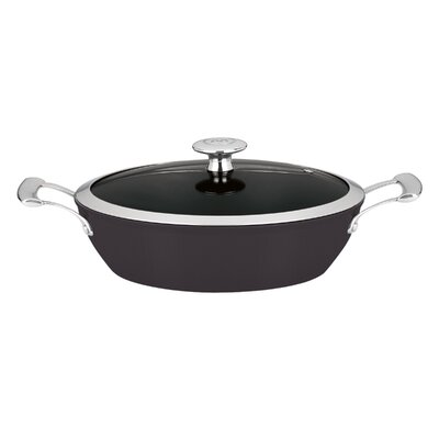 4-Qt. Cast Iron Round Braiser with Lid