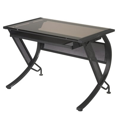 OSP Designs Horizon Computer Desk with Keyboard Tray