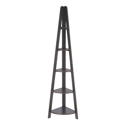 "OSP Designs Corner Ladder 72"" Bookcase"