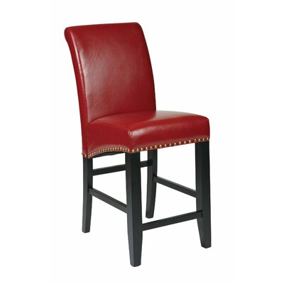 "OSP Designs Metro 24"" Bar Stool with Cushion"