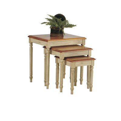 Country 3 Piece Nesting Tables