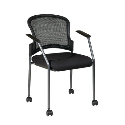 OSP Designs Rolling Visitors Chair with Casters