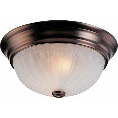 volume lighting minster 2 light ceiling fixture flush mount. Black Bedroom Furniture Sets. Home Design Ideas