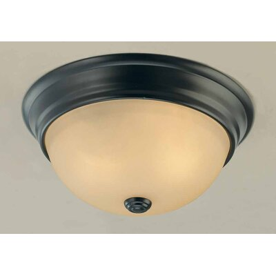 volume lighting minster 2 light ceiling fixture flush mount. Black Bedroom Furniture Sets. Home Design Ideas