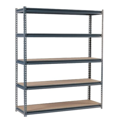 Heavy Duty Modular 16-Gauge Boltless Steel Shelving